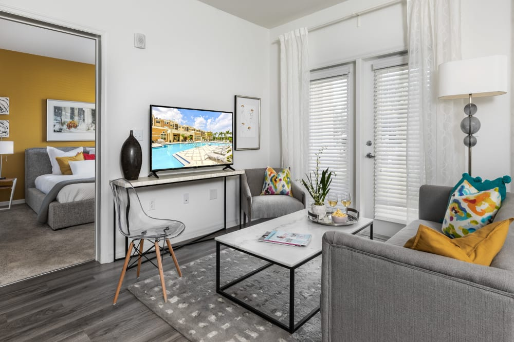Our Apartments in Riverview, Florida offer a Living Room