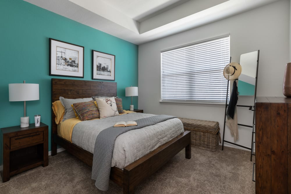Beautiful Bedroom at Lola Apartments in Riverview, Florida