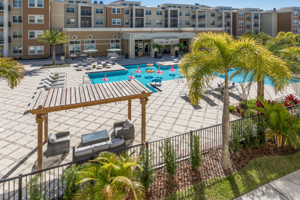 Swimming Pool at Lola Apartments in Riverview, Florida