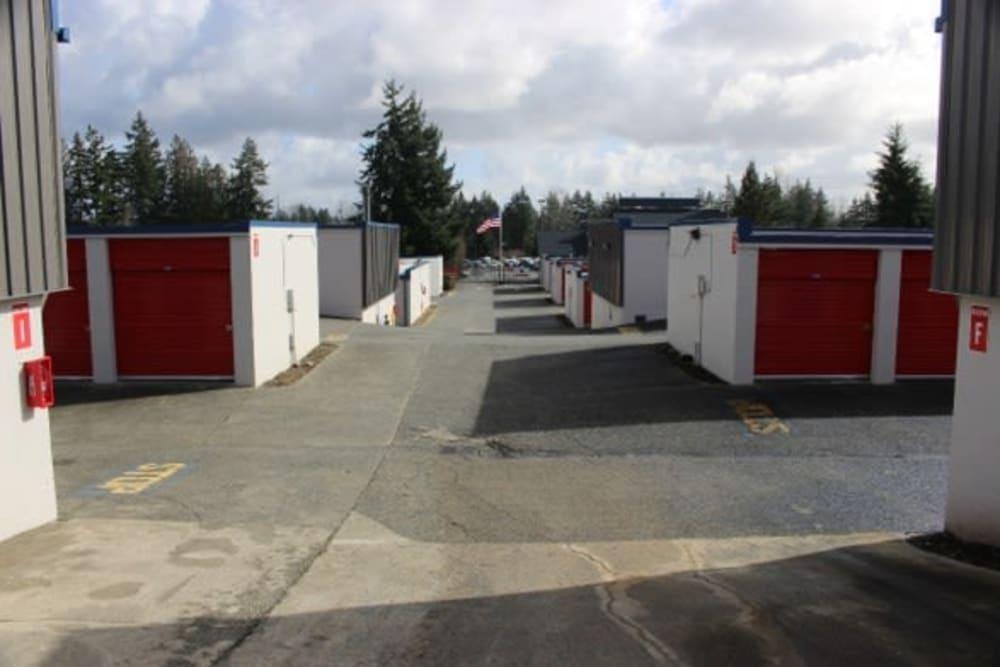 Exterior units at Everett, Washington