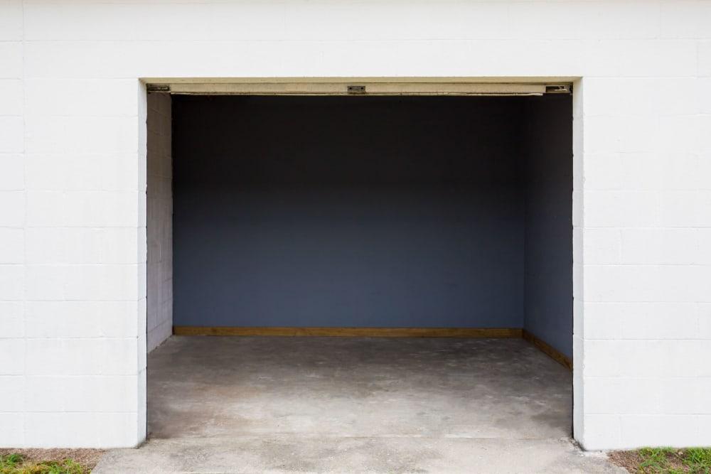 Interior of a self storage unit at StayLock Storage in Cassatt, South Carolina