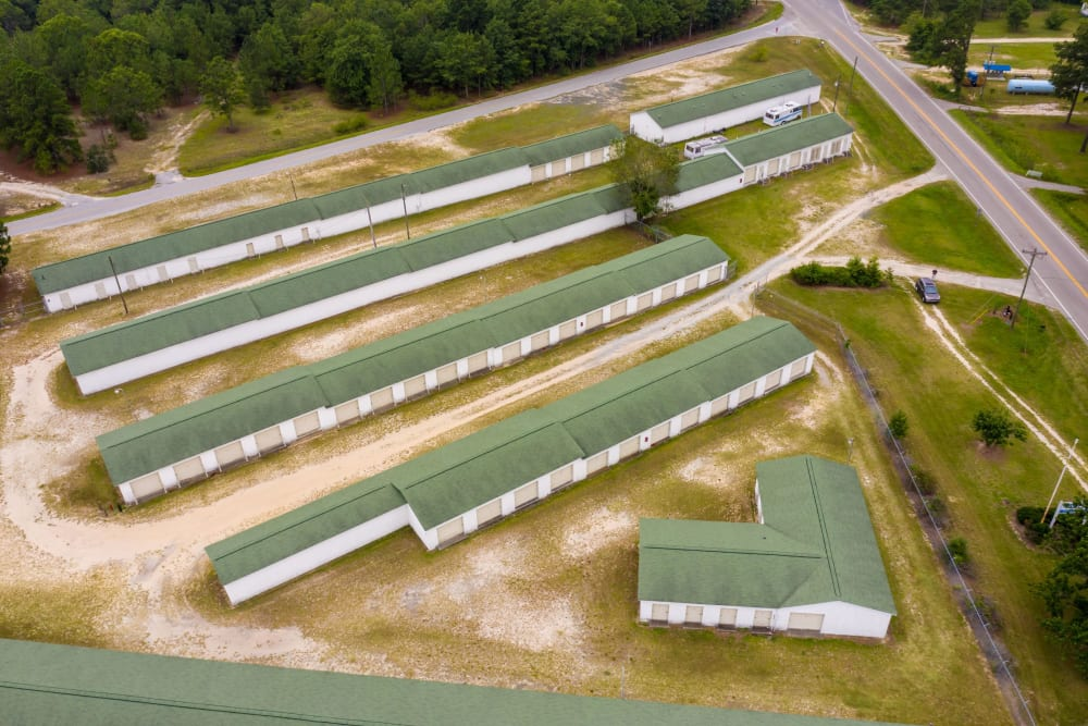 Aerial view of StayLock Storage in Cassatt, South Carolina