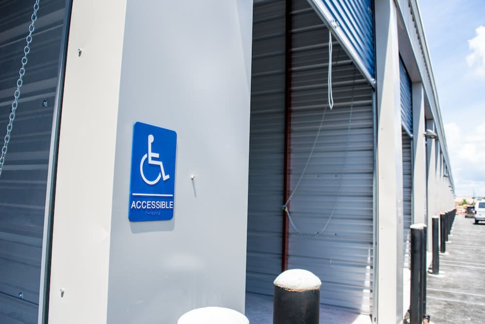 ADA accessible storage units at Atlantic Self Storage