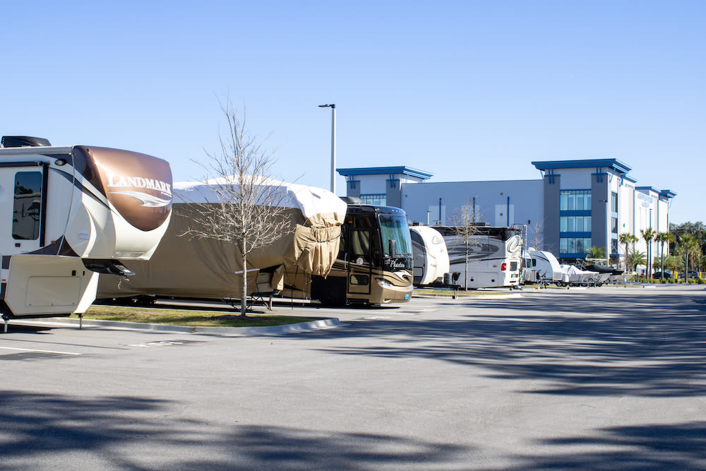 RV parking at Atlantic Self Storage