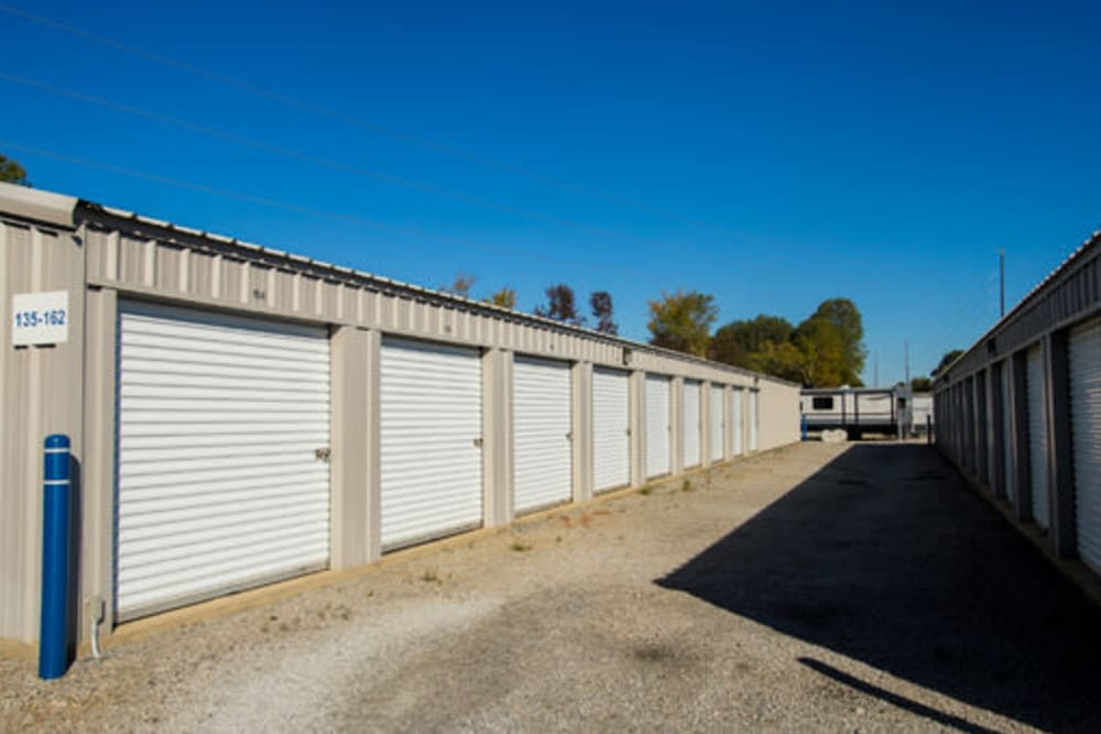 Easy access self storage units at StayLock Storage in Chapin, South Carolina