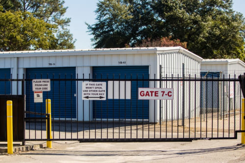 A variety of self storage units at StayLock Storage in Hartsville, South Carolina