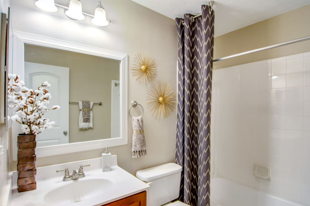 Bathroom at The Residences at Vinings Mountain in Atlanta, Georgia
