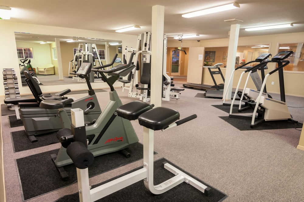 Fitness Center at Marketplace Apartments in Vancouver, Washington