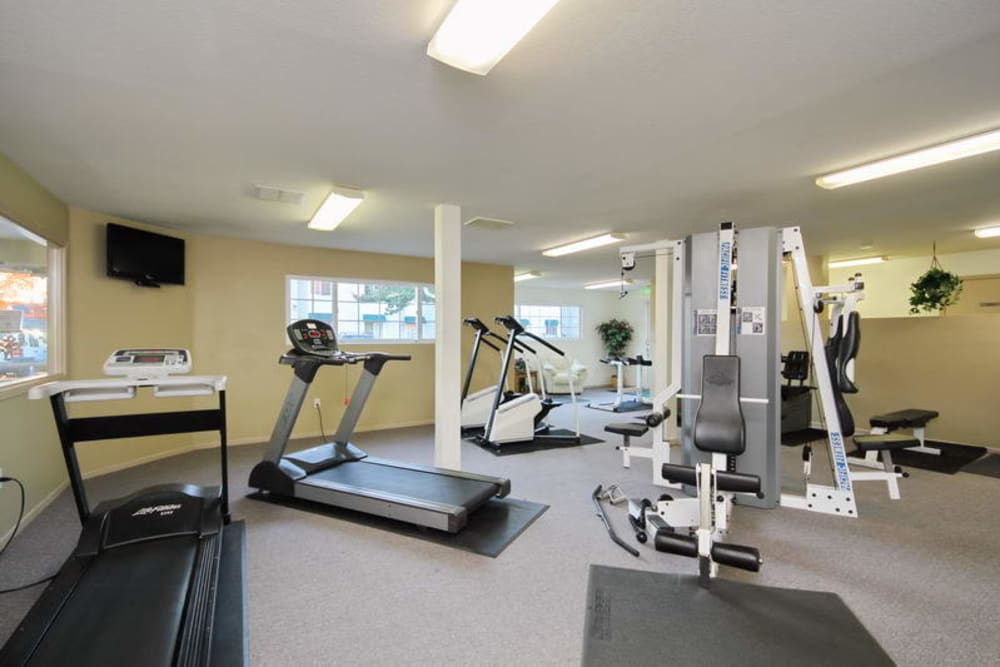 Fitness Center at Apartments in Vancouver, Washington