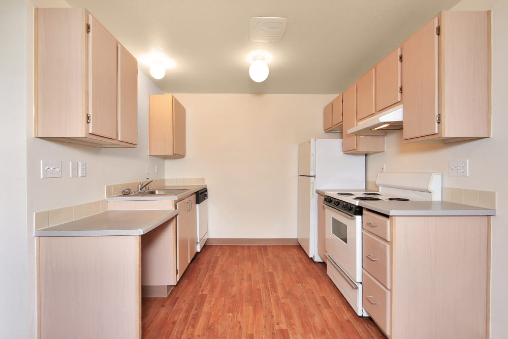 Kitchen at Apartments in Vancouver, Washington