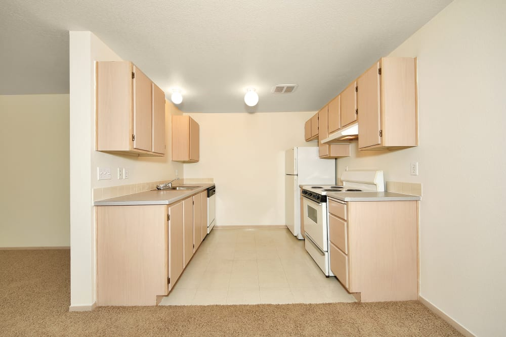 Kitchen at Marketplace Apartments in Vancouver, Washington