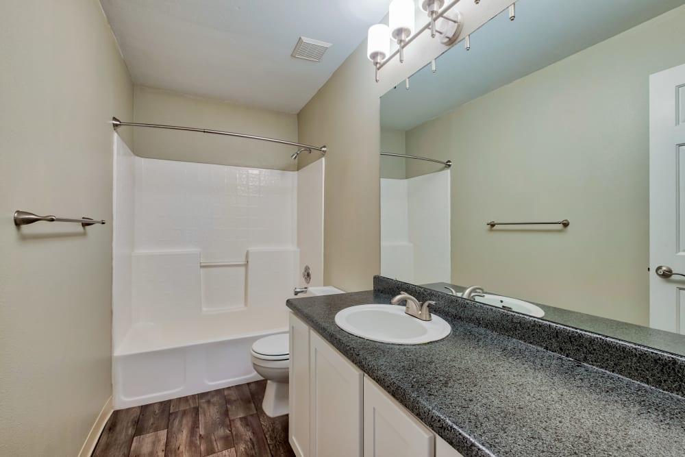 Bathroom at Monterra Townhomes in Boise, Idaho