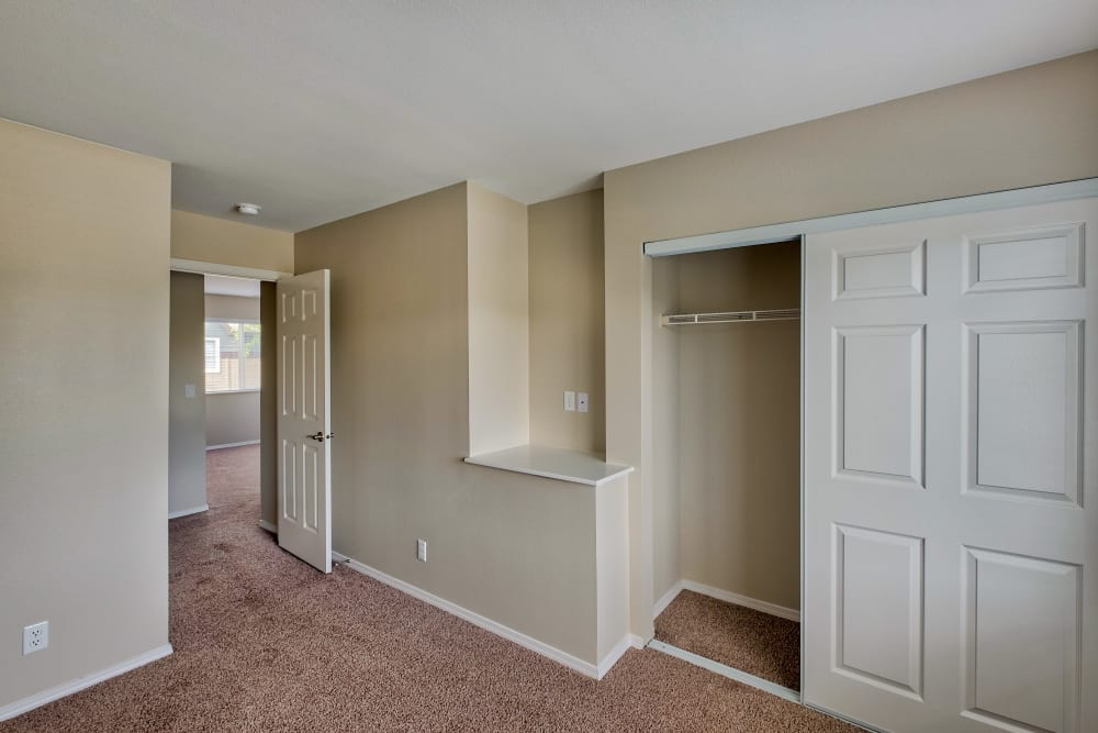 Bedroom at Monterra Townhomes in Boise, ID