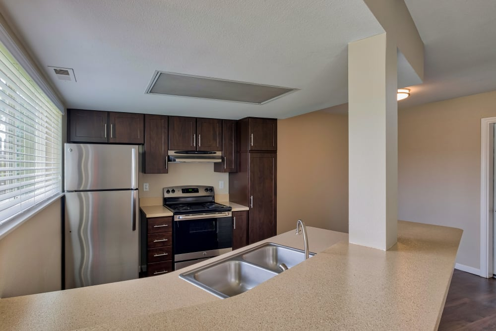 Kitchen at Monterra Townhomes in Boise, ID