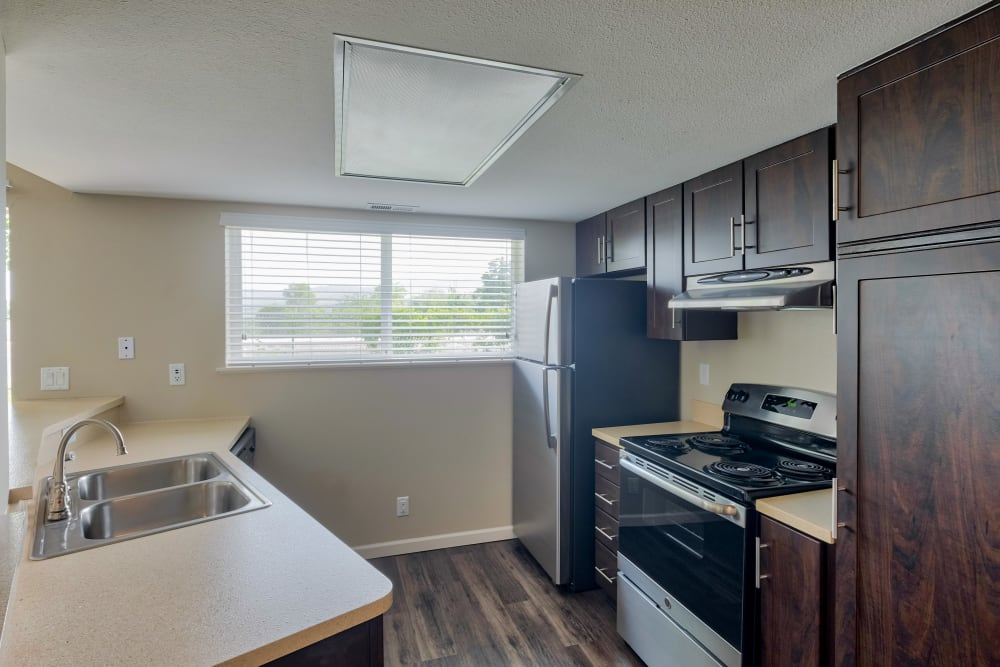 Kitchen at Monterra Townhomes in Boise, Idaho