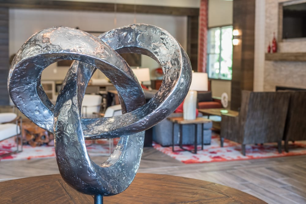 Table to art at Lodge at Croasdaile Farm in Durham, North Carolina