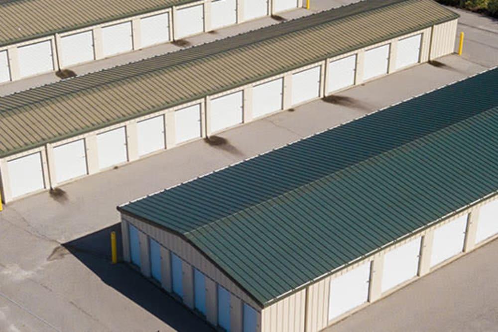 Self storage units at StayLock Storage in Camden, South Carolina