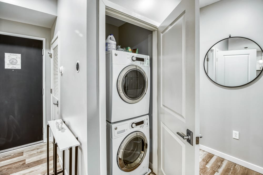 Tribeca STL in St. Louis, Missouri offers Apartments with a Washer/Dryer