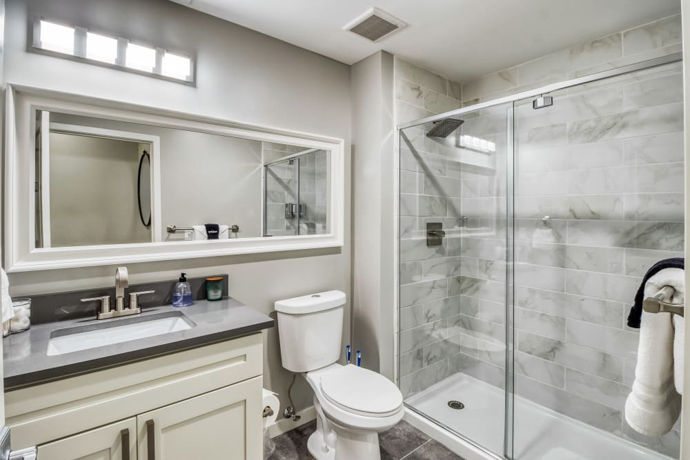 Luxury Bathroom at Apartments in St. Louis, Missouri