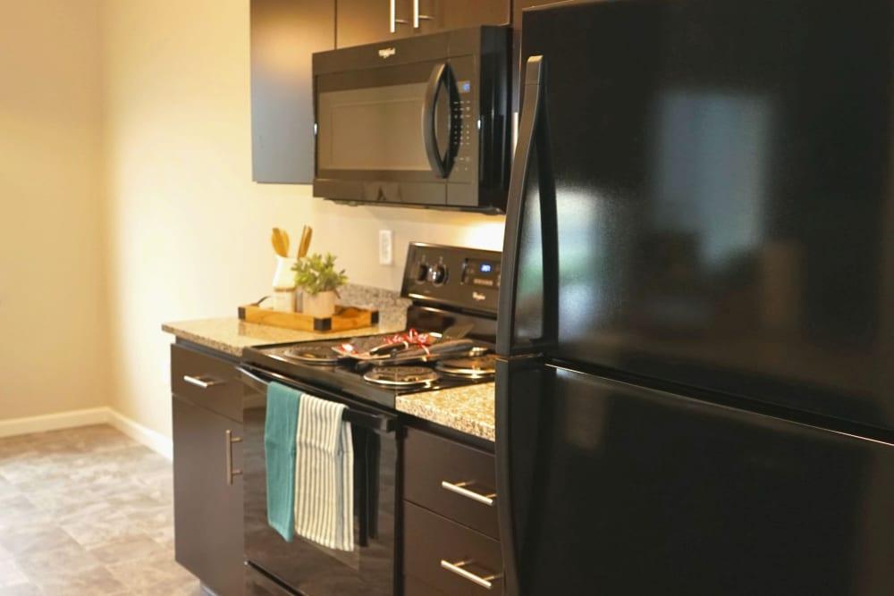 Kitchen at Monmouth, Oregon near Southtown Apartments