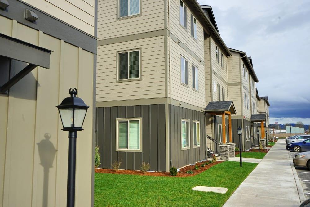 Exterior of Monmouth, Oregon near Southtown Apartments