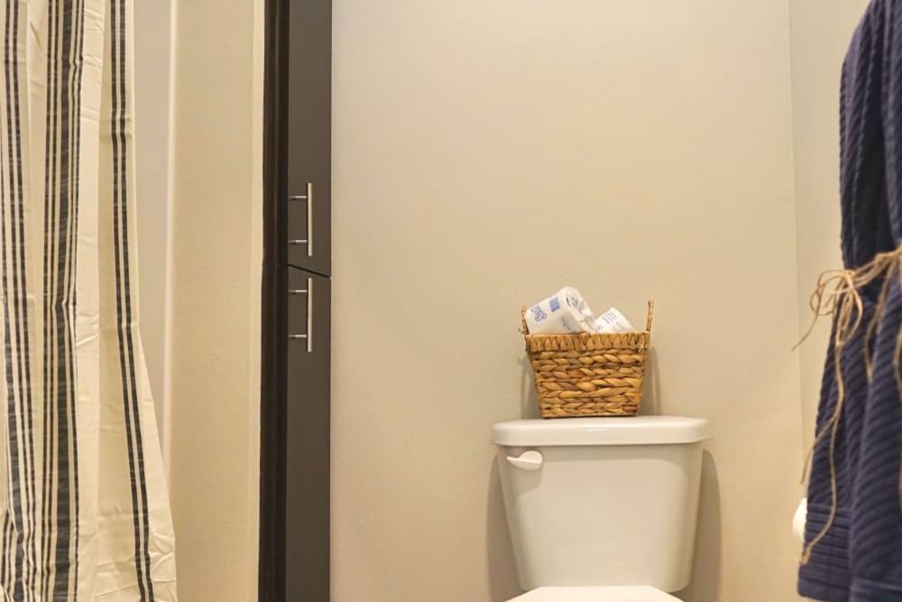 Bathroom at Monmouth, Oregon near Southtown Apartments