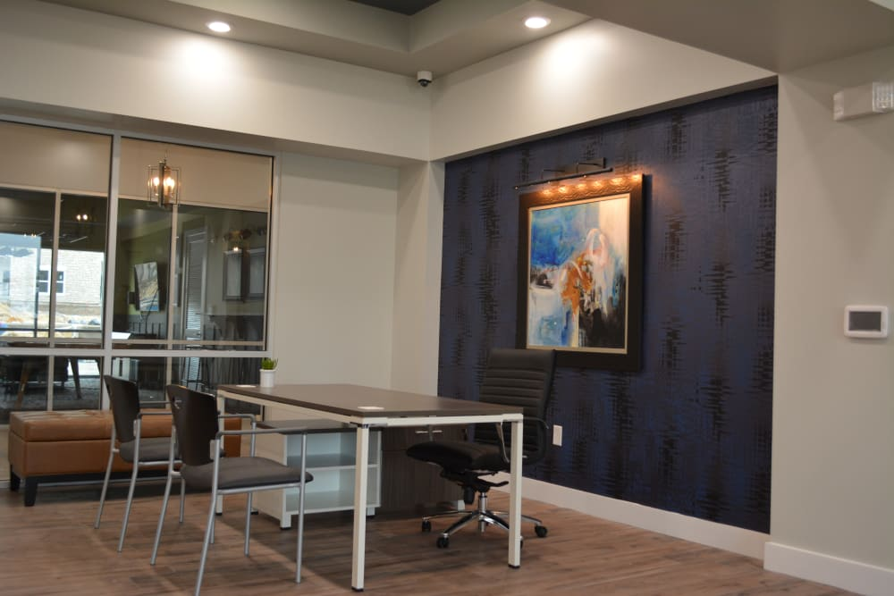 Leasing Office at The Abbey at Sonterra in San Antonio, Texas