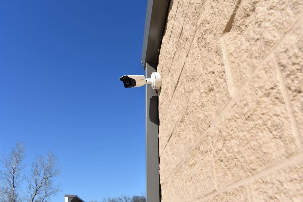Security camera at Storage 365 in Garland, Texas