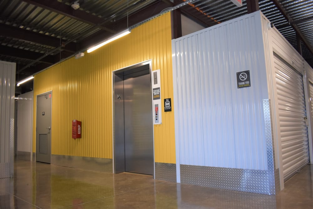Elevator Access at Storage 365 in Irving, Texas