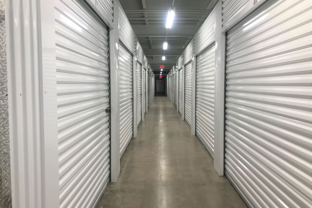 The interior climate controlled units available for rent at Storage 365 in Golden Valley, Minnesota