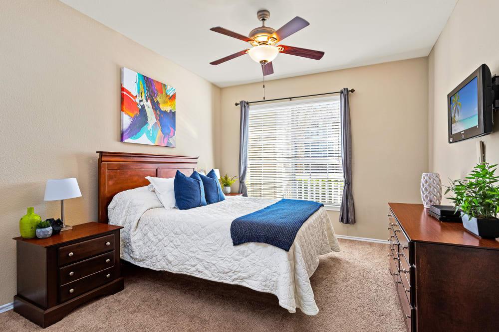 Bedroom at The Lodge at Shavano Park in San Antonio, Texas