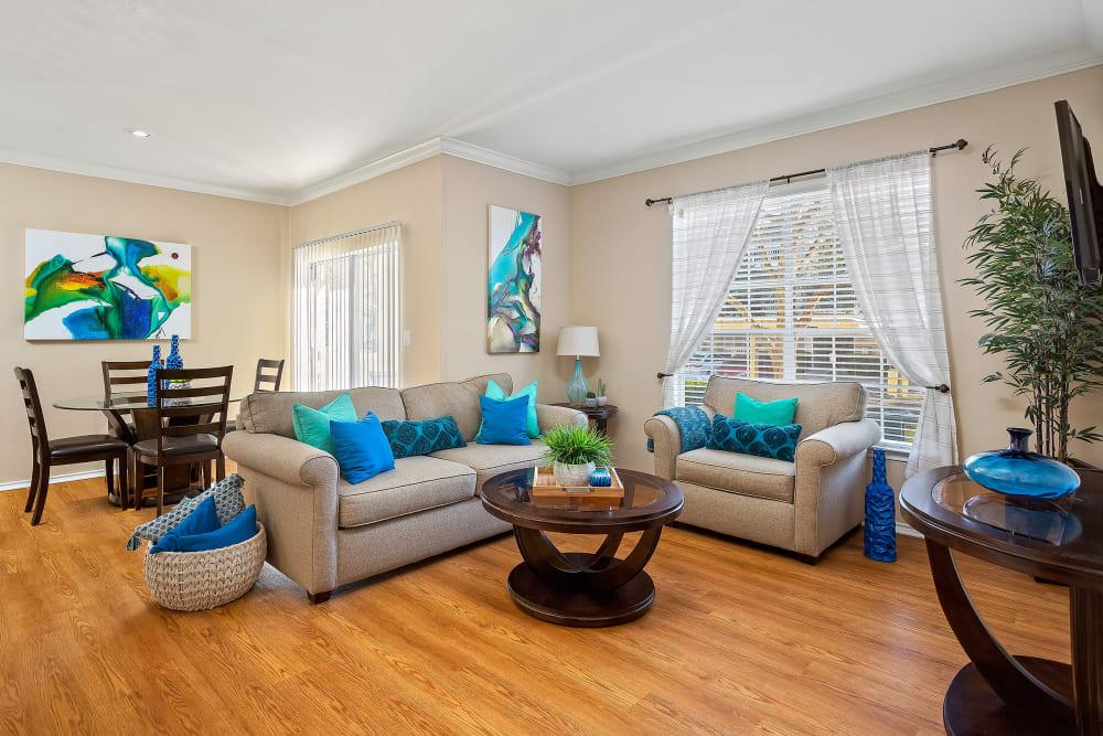 Living Room at The Lodge at Shavano Park in San Antonio, Texas