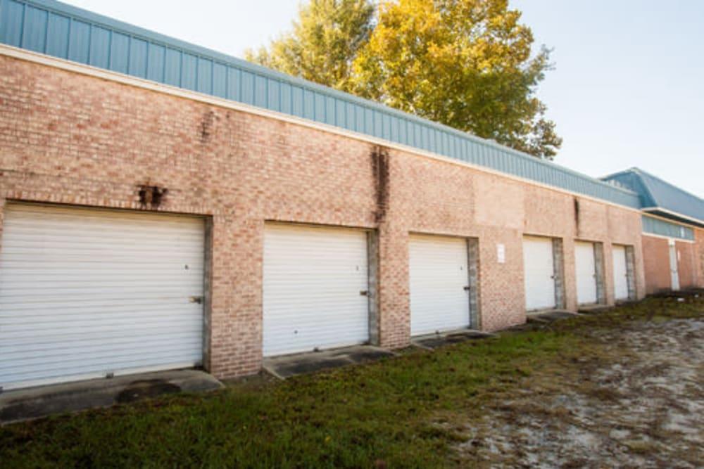 Easy access self storage units at StayLock Storage in Camden, South Carolina