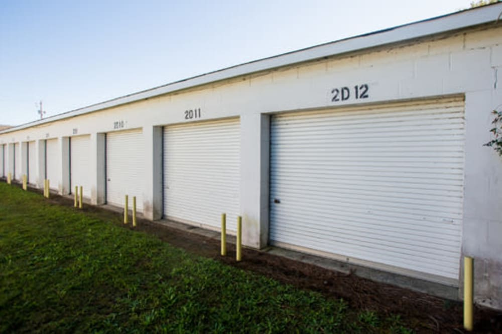 Easy access self storage units at StayLock Storage in Hartsville, South Carolina