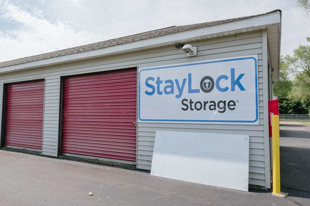 Exterior of our storage units at StayLock Storage in Battle Creek, Michigan