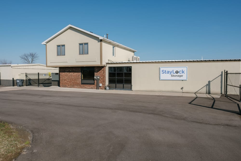 External view of our storage facility at StayLock Storage in Saint Joseph, Michigan