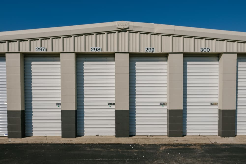 Easy access self storage units at StayLock Storage in Saint Joseph, Michigan