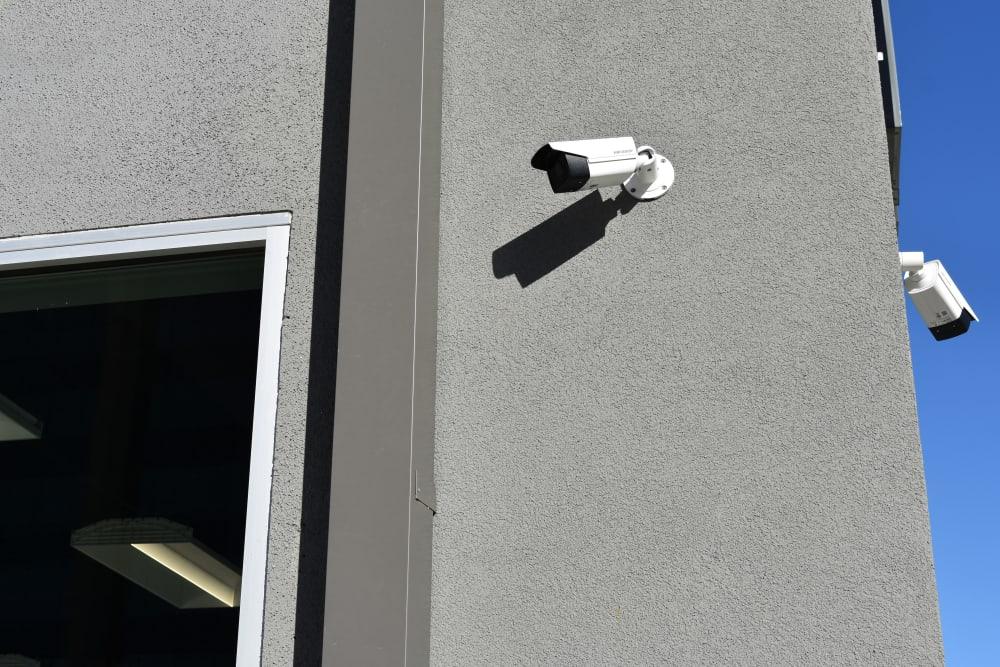 Security cameras at Storage 365 in Dallas, Texas
