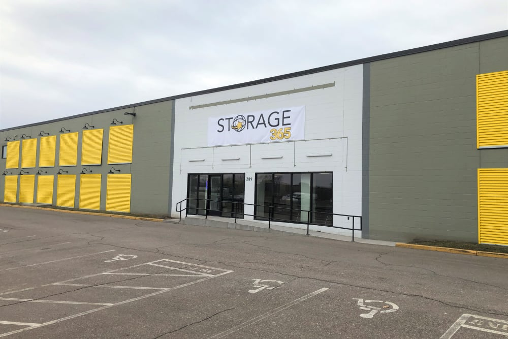 The exterior of Storage 365 in St. Paul, Minnesota