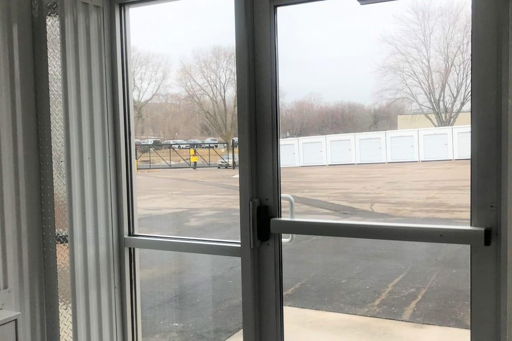 Entrance door at Storage 365 in Golden Valley, Minnesota
