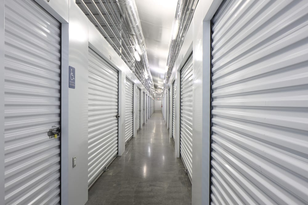 Self storage units at StayLock Storage in Simpsonville, South Carolina