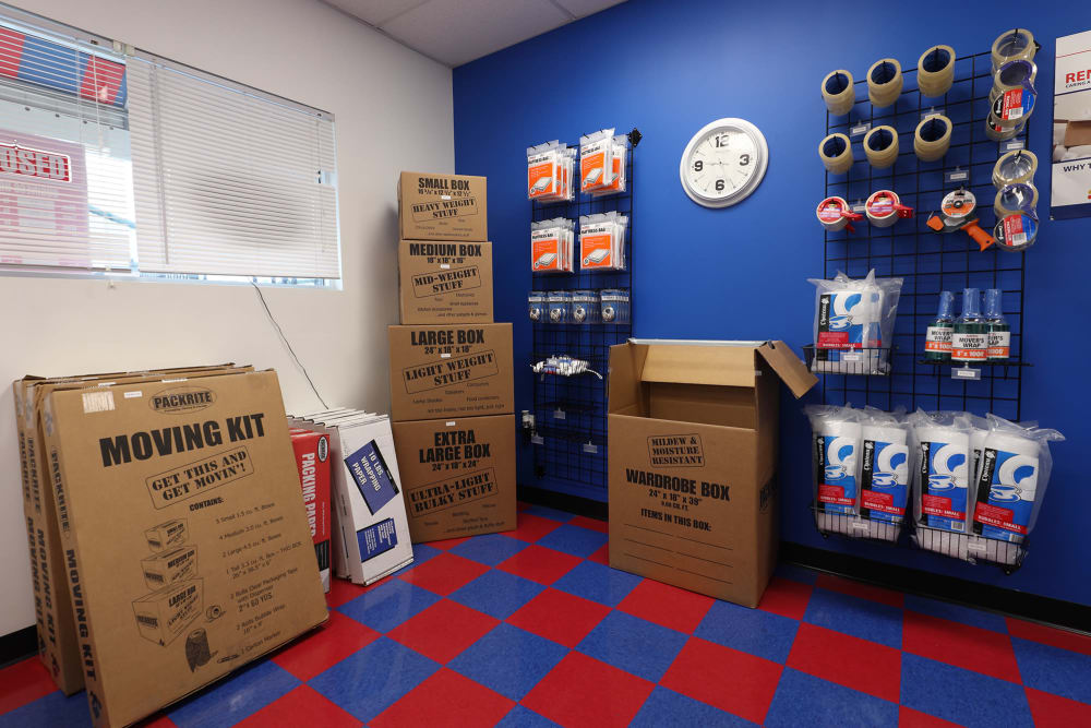 Packing Supplies at StayLock Storage in Simpsonville, South Carolina