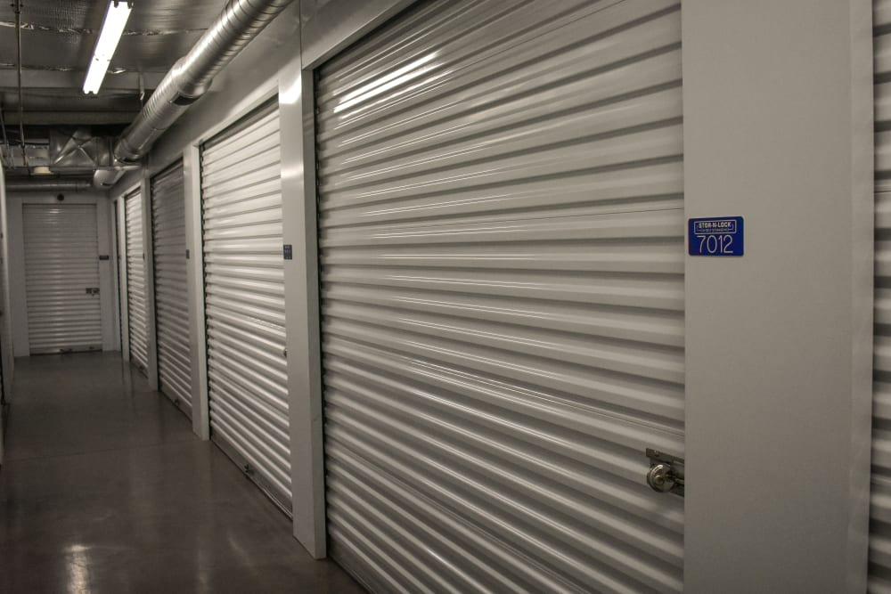 Interior storage units at STOR-N-LOCK Self Storage in Hurricane, Utah