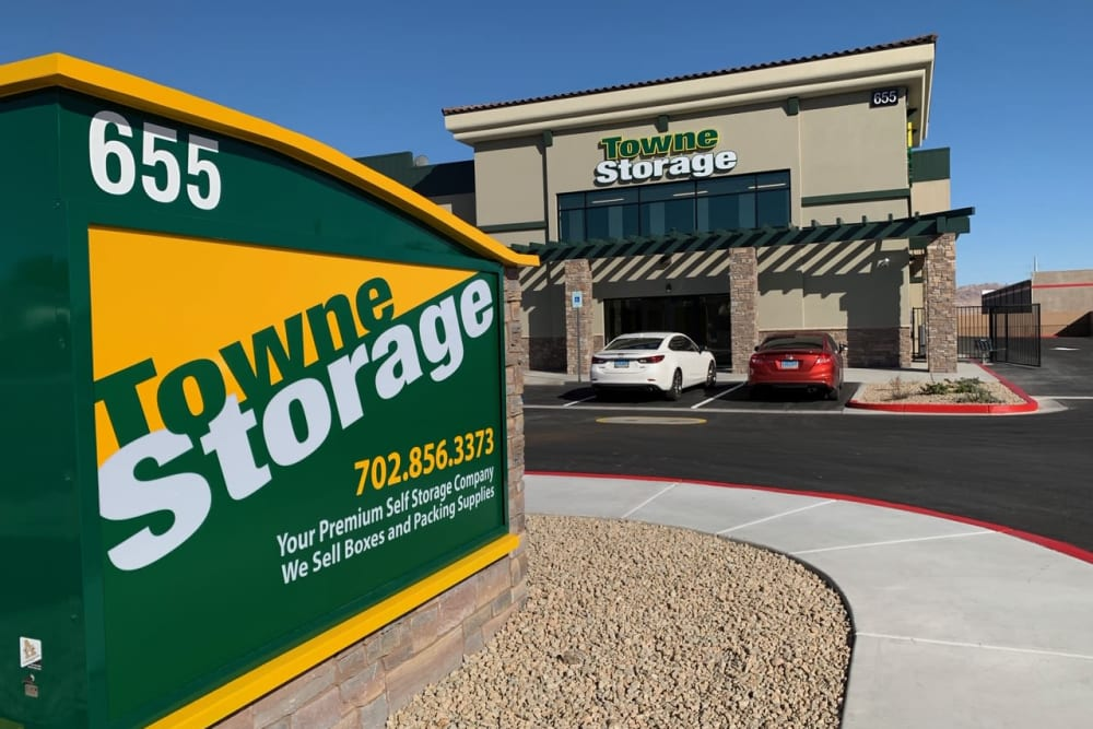 Exterior at Towne Storage in Henderson, Nevada