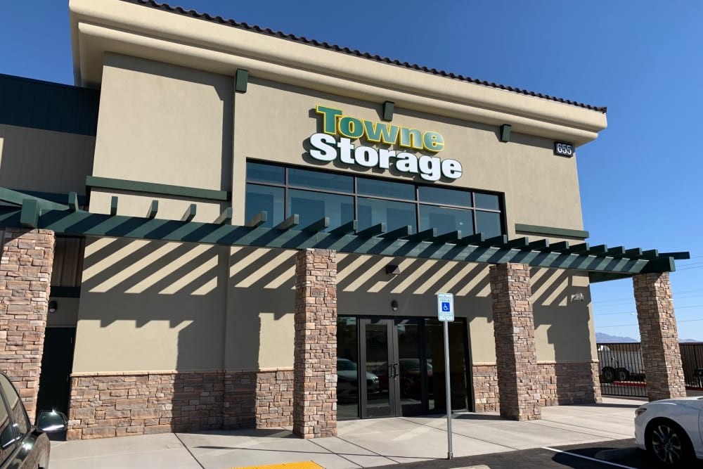 Entrance at Towne Storage in Henderson, Nevada