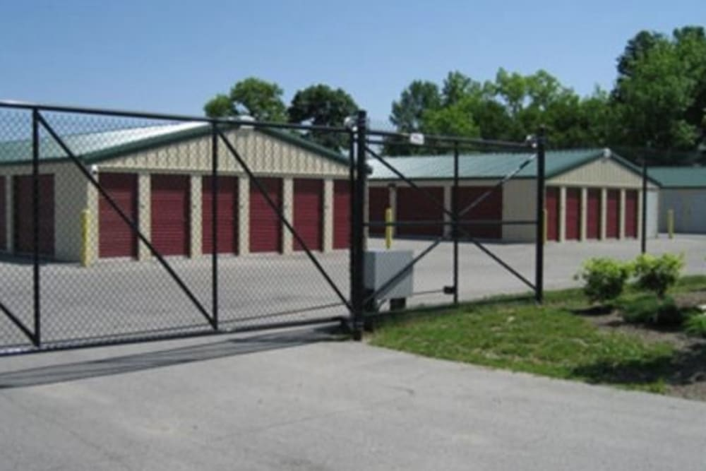 Easy access self storage units at StayLock Storage in Auburn, Indiana