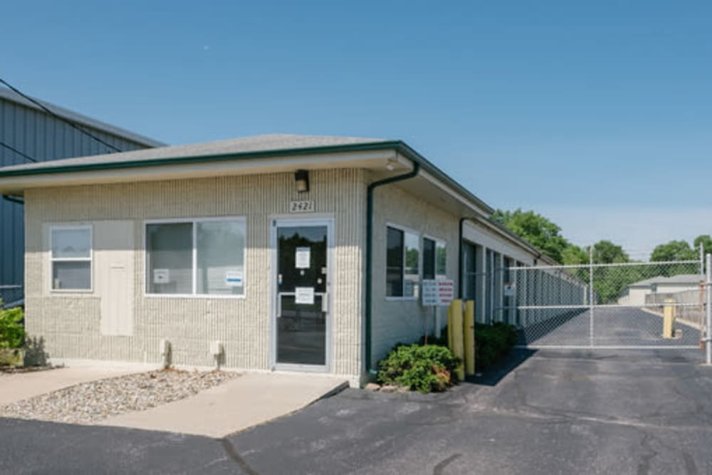 Exterior view of StayLock Storage in Elkhart, Indiana