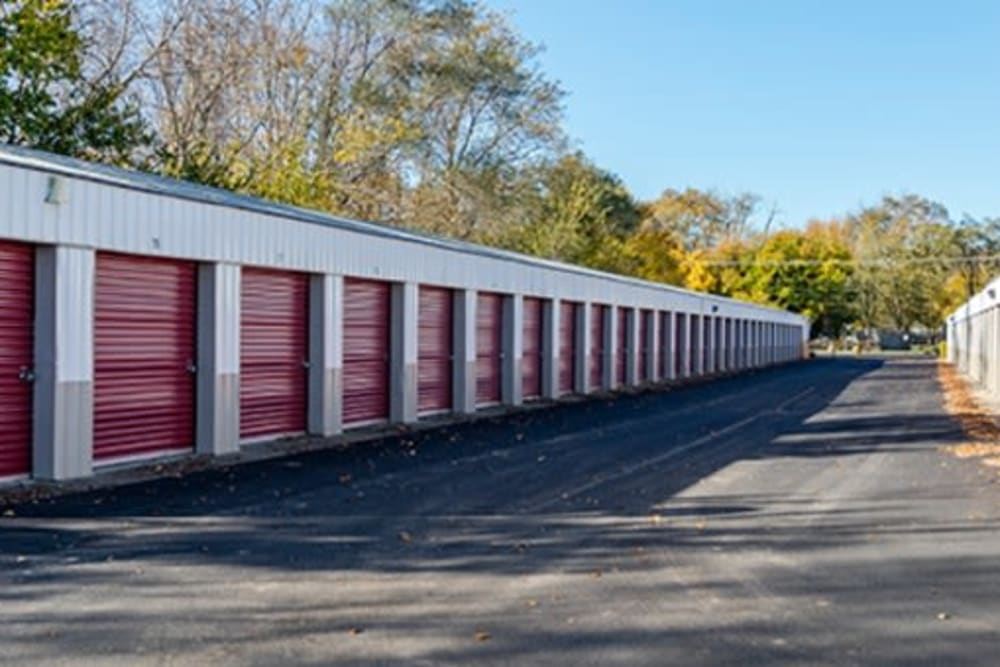 Easy access self storage units at StayLock Storage in Elkhart, Indiana
