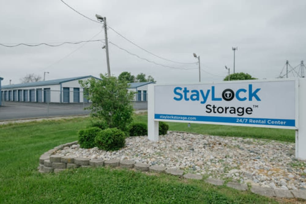Entrance to our storage units at StayLock Storage in Noblesville, Indiana