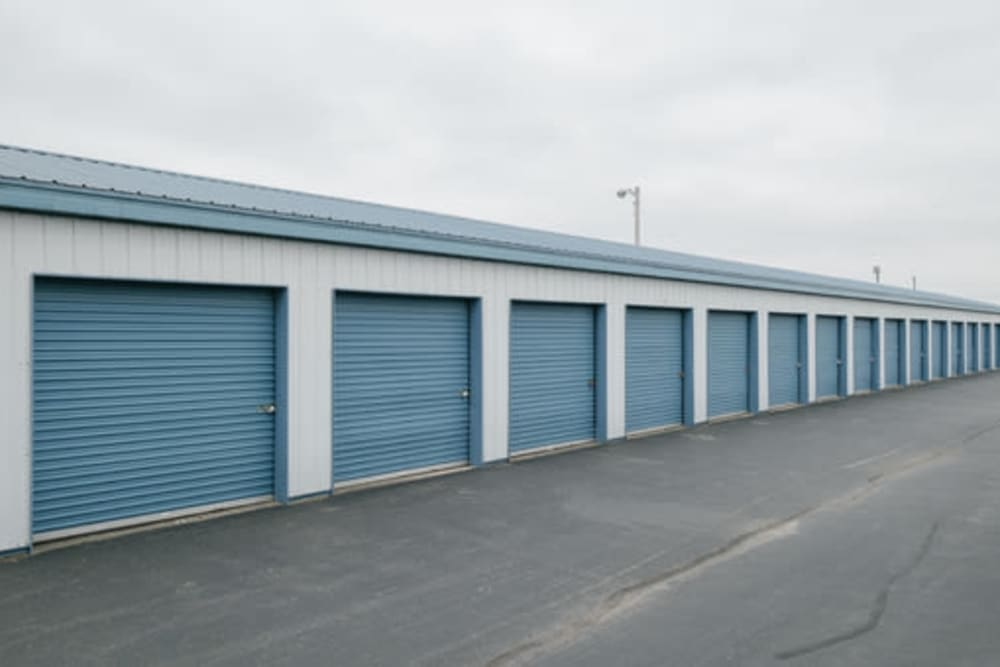 Easy access self storage units at StayLock Storage in Noblesville, Indiana